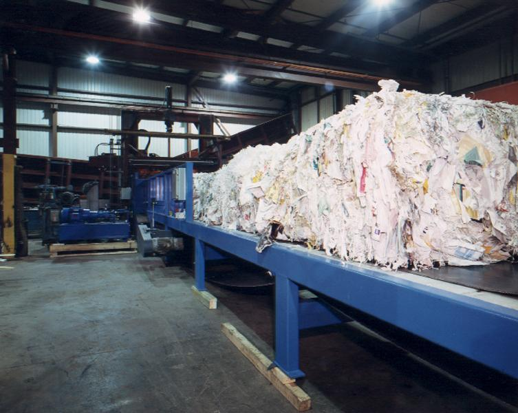 Paper - Pulper Feed System - pulp and wetlap bale 1