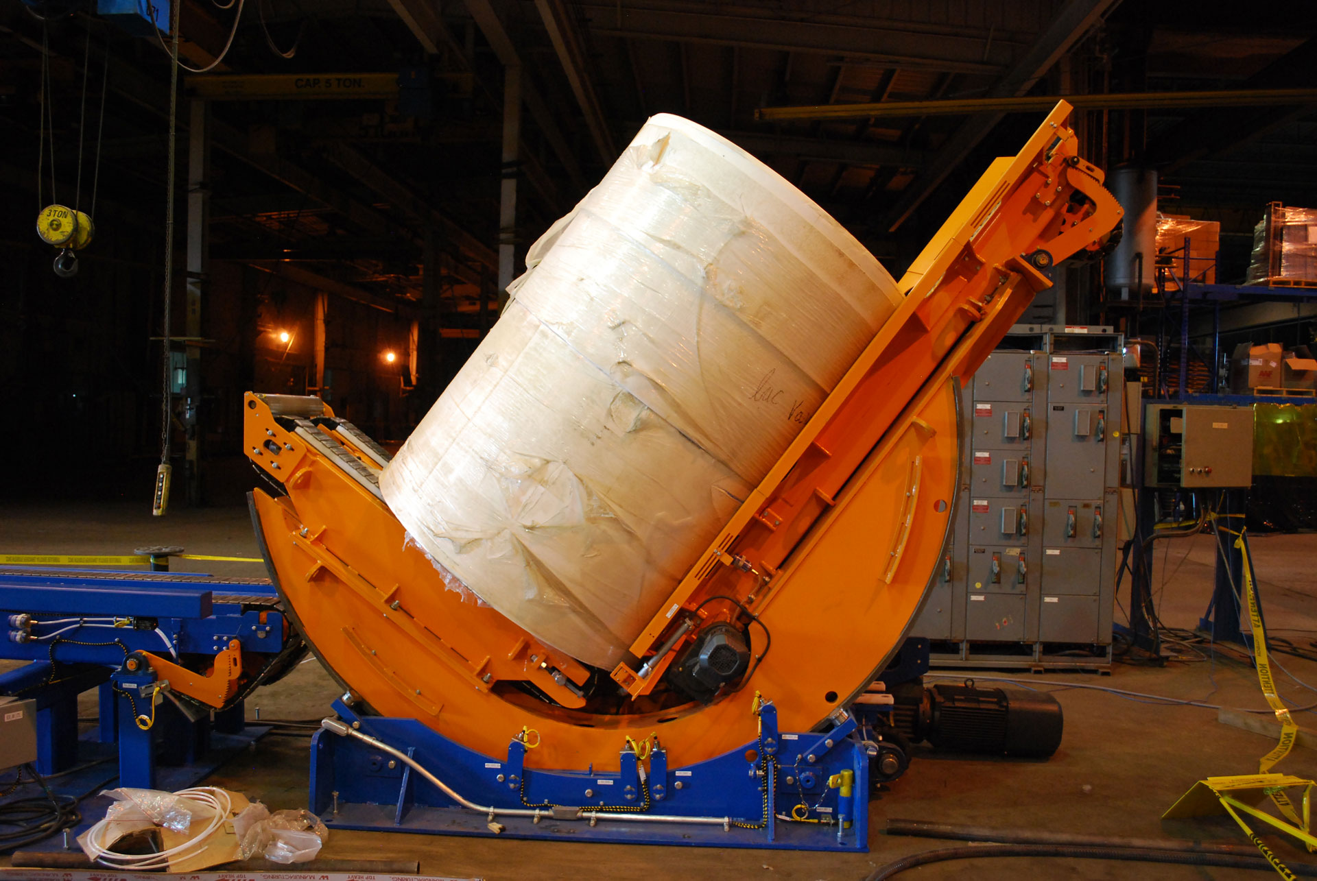 Paper---Roll-Handling-Systems---Conveying-Systems---Downender-1