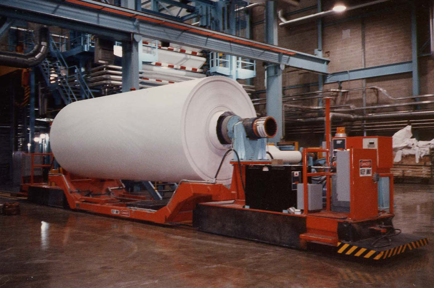 Paper - Roll Handling Systems - warehouse systems 1
