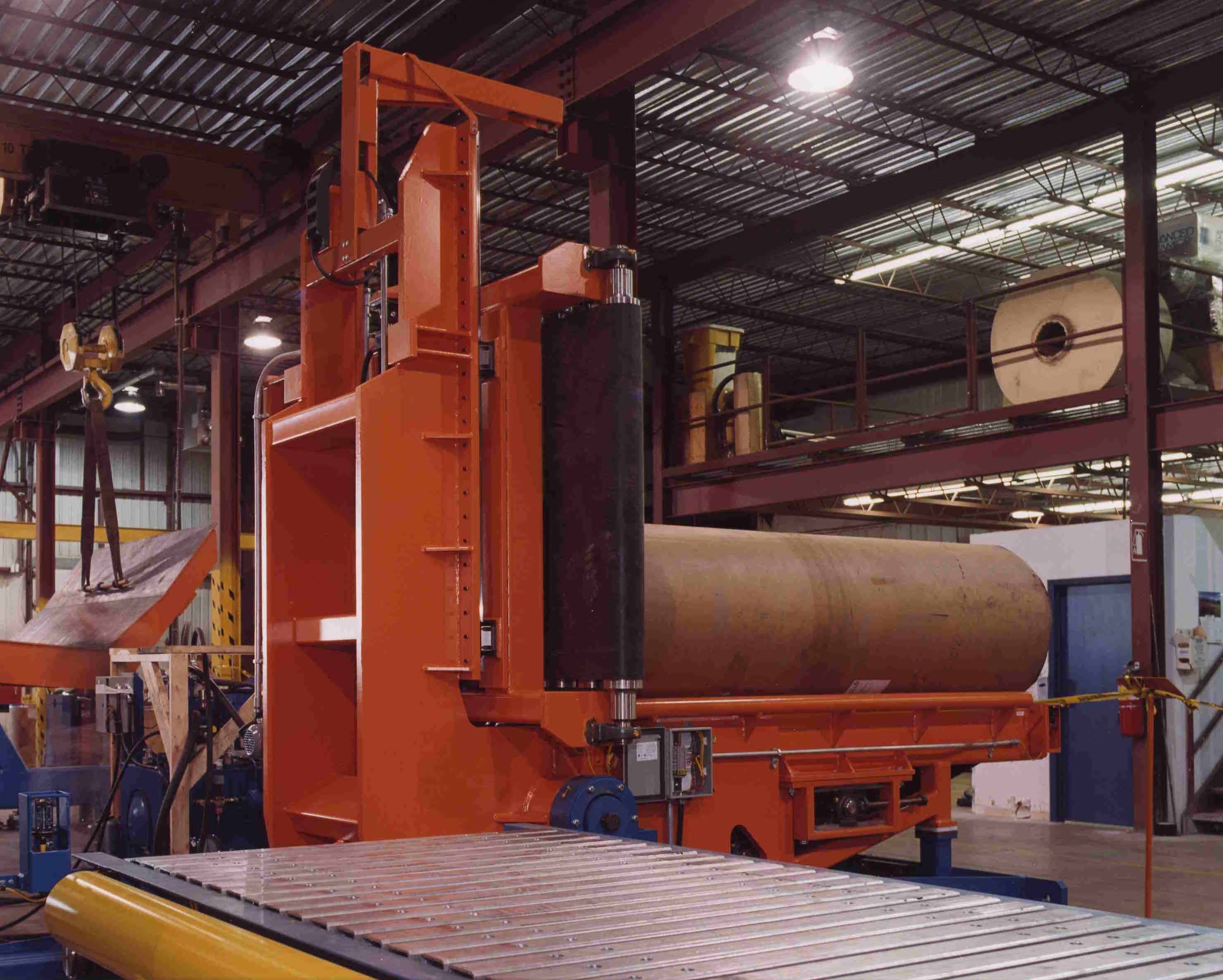 paper - roll handing - conveying systems - upender (1)