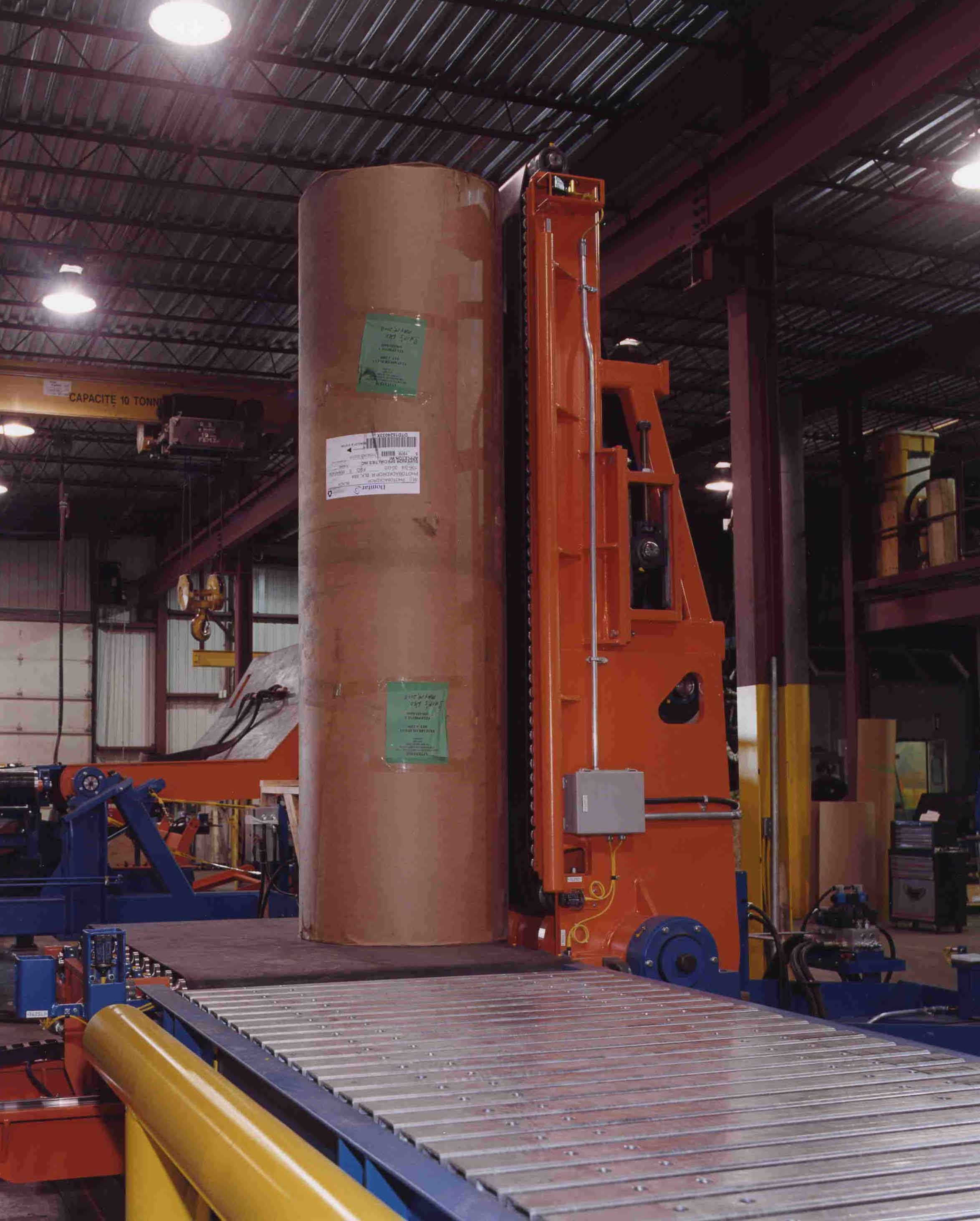 paper - roll handing - conveying systems - upender (3)