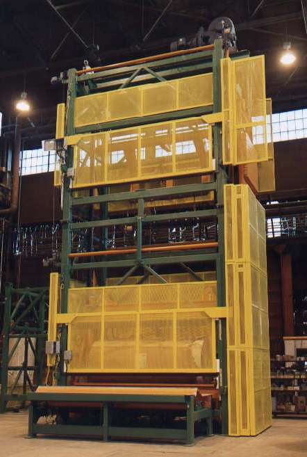 paper - roll handling - conveying systems - roll elevator (1)