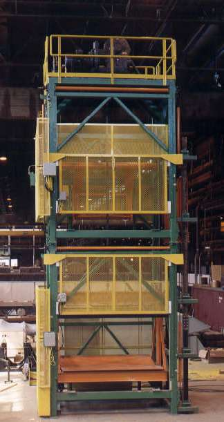 paper - roll handling - conveying systems - roll elevator (2)